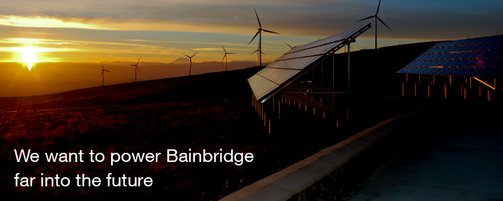 We want to power Bainbridge far into the future
