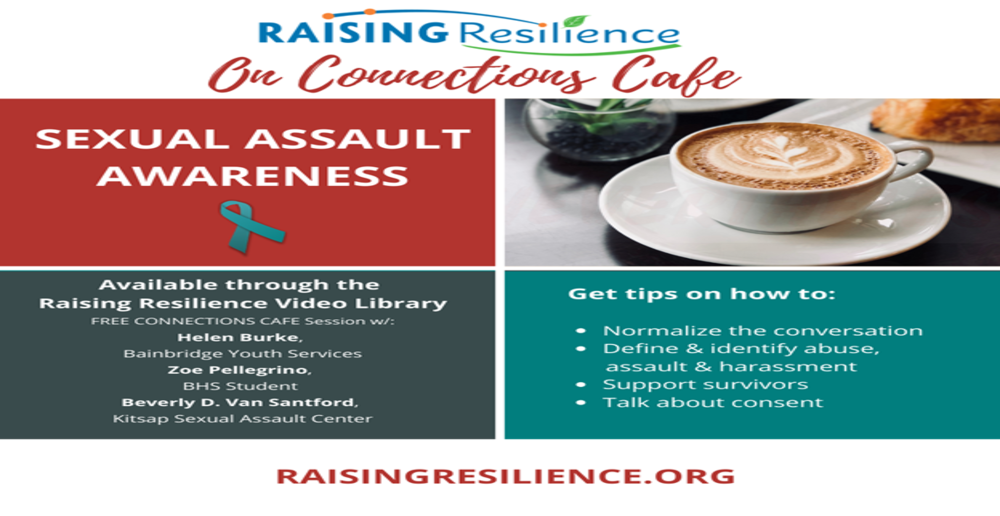 Raising Resilience Connection Cafe flyer